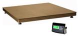 04048965 Waga platformowa ze stali szlachetnej z legalizacją (nośność: 1500 kg, podziałka: 500 g, wymiary: 1500x1500 mm)