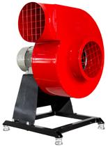 08549406 Wentylator promieniowy stacjonarny z ramą amortyzującą i z ramą amortyzującą WPA-5-E-1-N-S 230V (obroty synchroniczne: 3000 1/min, moc: 0,55 kW, wydajność wentylatora: 1900 m3/h)