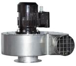 08549472 Wentylator przeciwwybuchowy promieniowy stanowiskowy WP-3-E/Ex (obroty synchroniczne: 3000 1/min, moc: 0,37 kW, wydajność wentylatora: 900 m3/h)