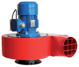 08549482 Wentylator przeciwwybuchowy promieniowy stanowiskowy WPA-7-E/Ex (obroty synchroniczne: 3000 1/min, moc: 1,1 kW, wydajność wentylatora: 3100 m3/h)