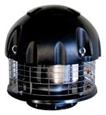 08549506 Wentylator chemoodporny przeciwwybuchowy dachowy SPARK-CHEM-200/1500/Ex (obroty synchroniczne: 1500 1/min, moc: 0,18 kW, wydajność wentylatora: 1330 m3/h)