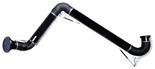 08549536 Odciąg stanowiskowy, ramię odciągowe ze ssawką z lampką halogenową i transformatorem, wersja stojąca ERGO-LL/Z-3-R (średnica: 160 mm, długość: 3 m)