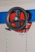 2203104 Wózek jedno-belkowy z napędem ręcznym Z420-B/5.0t/3m (wysokość podnoszenia: 3m, szerokość dwuteownika od: 113-220mm, udźwig: 5 T)