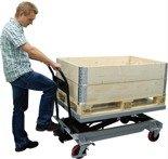 310556 Ruchomy stół podnośny ręczny BS50LB (udźwig: 500 kg)