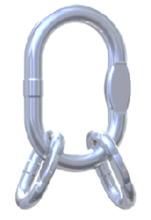 33954994 Ogniwo zbiorcze nierdzewne klasy 5 VAWI 16 (udźwig: 10,5 T)