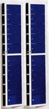 77157127 Szafa skrytkowa, 20 drzwi (wymiary: 2000x470x220 mm)
