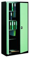 99551661 Szafa biurowa 0,7mm, 2 drzwi, 4 półki (wymiary: 1990x1000x435 mm)
