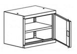 99551667 Nadstawka do szaf biurowych 0,7mm, 1 drzwi, 1 półka (wymiary: 465x600x435 mm)