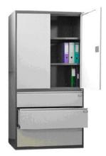 99551733 Szafa aktowa, 2 drzwi , 3 szuflady (wymiary: 1990x1000x435 mm)