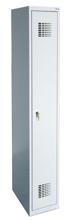 99551940 Szafka ubraniowa 0,5mm, 1 drzwi, zamek cylindryczny zamykany w 3 punktach (wymiary: 1800x400x500 mm)