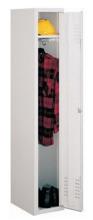 99552118 Szafka ubraniowa 0,6mm, zamek na kłódkę, 1 drzwi (wymiary: 1800x300x490 mm)