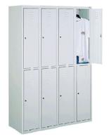 99552266 Szafka ze schowkami 0,8-1,0mm, 6 drzwi (wymiary: 1800x1200x490 mm)