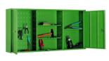 99552458 Szafka warsztatowa, 2 drzwiczki (wymiary: 600x1200x200 mm)