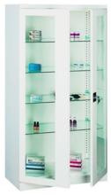 99552550 Szafa lekarska, 4 półki, 2 drzwi (wymiary: 1800x800x435 mm)