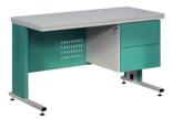 99552558 Biurko lekarskie, 2 szuflady (wymiary: 740-770x1200x600 mm)