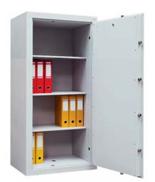 99552665 Sejf gabinetowy dwupłaszczowy 0 klasy, 3 półki, 1 drzwi (wymiary: 1600x640x435 mm)
