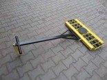 DOSTAWA GRATIS! 12267438 Wózek skrętny 16 rolkowy, rolki: 16x nylon (nośność: 14 T)