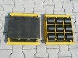 DOSTAWA GRATIS! 12267448 Zestaw wózków, rolki: 34x nylon (nośność: 32 T)