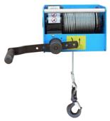 DOSTAWA GRATIS! 44929812 Ręczny wciągnik linowy z przekładnią ślimakową Tractel® CAROL™ TS250 (bez liny, udźwig: 250 kg)