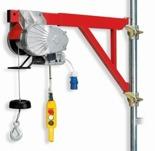 DOSTAWA GRATIS! 55547201 Wciągarka budowlana linowa elektryczna + zdalne sterowanie z niskim napięciem (udźwig: 150 kg, długość liny: 40m)
