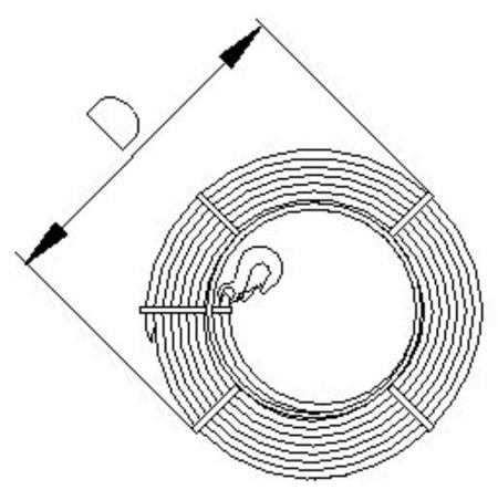 DOSTAWA GRATIS! 2203116 Wciągnik linowy 30.11/3.2t (długość liny: 40m, udźwig: 3,2 T)