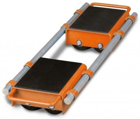 44340166 Podwójne rolki transportowe Unicraft VTR 6 (udźwig: 6 t)