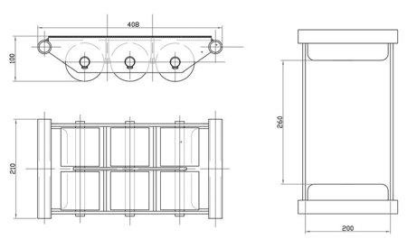 DOSTAWA GRATIS! 44366794 Rolki transportowe, transportery (udźwig: 6000 kg)