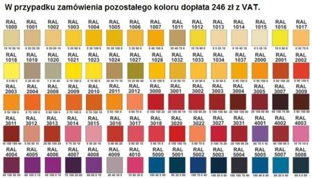 00150386 Szafa ubraniowa L, 3 segmenty, 6 drzwi (wymiary: 1800x900x480 mm)