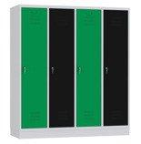 00141840 Szafa ubraniowa,4 segmenty, 4 drzwi (wymiary: 1800x1590x480 mm)