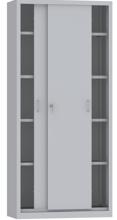 00150801 Szafa przesuwna, 4 półki (wymiary: 1950x900x400 mm)
