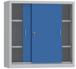 00150815 Szafa przesuwna niska, 2 półki (wymiary: 1000x1000x600 mm)