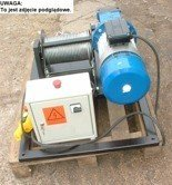28863936 Elektryczna wciągarka linowa (siła uciągu: 800/464 kg, długość liny: 400m, moc: 3kW)