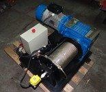 28869065 Elektryczna wciągarka bez liny (siła uciągu: 2300/1100 kg, moc: 7,5kW 400V)