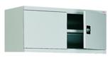 99551707 Nadstawka do szaf biurowych 1,0mm, 2 drzwi, 1 półka (wymiary: 465x1000x435 mm)