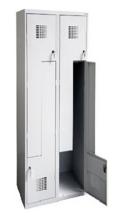 99551980 Szafka ubraniowa 0,5mm, 4 drzwi w kształcie L (wymiary: 1800x600x500 mm)