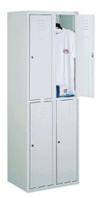 99552284 Szafka ze schowkami 0,8-1,0mm, 4 drzwi (wymiary: 1800x800x490 mm)