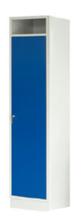 99552381 Szafa do przechowywania czystej i brudnej odzieży, 1 drzwi (wymiary: 1900x425x500 mm)