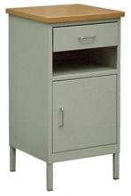 99552562 Szafka przyłóżkowa, 1 szuflada, 1 drzwi (wymiary: 800x420x420 mm)