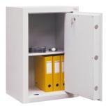 99552660 Sejf gabinetowy dwupłaszczowy 0 klasy, 1 półka, 1 drzwi (wymiary: 600x540x435 mm)