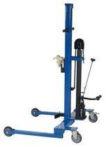 99724855 Wózek podnośnikowy ręczny do beczek GermanTech (udźwig: 300 kg)