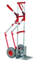 99746700 Wózek taczkowy do transportu, aluminiowy GermanTech (udźwig: 250 kg)