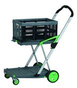 99746706 Wózek do transportu, składany + pudełko GermanTech (udźwig: 60 kg)