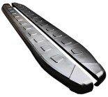 DOSTAWA GRATIS! 01655945 Stopnie boczne, czarne - Mitsubishi Outlander 2012- (długość: 171 cm)