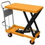 DOSTAWA GRATIS! 02869880 Wózek nożycowy platformowy (udźwig: 300 kg, wymiary platformy: 500x800 mm, wysokość podnoszenia min/max: 430-900 mm)