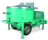 DOSTAWA GRATIS! 05668332 Mieszarka do zapraw o dużej wydajności przystosowana do holowania (pojemność zbiornika: 750 L, prędkość mieszania: 35 l/min., silnik: 400V/50Hz, 4 kW, 9 A)