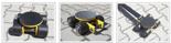 DOSTAWA GRATIS! 12235601 Wózek skrętny 4 rolkowy, rolki: 4x stal (nośność: 4 T)