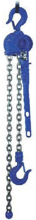 DOSTAWA GRATIS! 22021332 Wciągnik dźwigniowy, rukcug z łańcuchem ogniwowym RZC/5.0t (wysokość podnoszenia: 10,5m, udźwig: 5 T)