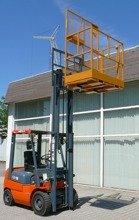 DOSTAWA GRATIS! 29046347 Platforma robocza PR80 dla 1 osoby (wymiary: 800 x 1200 x 1800 mm)