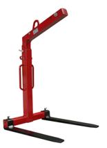 DOSTAWA GRATIS! 33915348 Zawiesie widłowe do podnoszenia palet KMI 1,0 (udźwig: 1 T, długość wideł: 1000 mm)