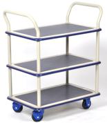 DOSTAWA GRATIS! 39955542 Wózek warsztatowy, 3 półki (wymiary: 920x610x1270mm)